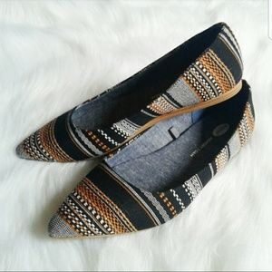 Dr Scholl's pointed toe flats 8.5